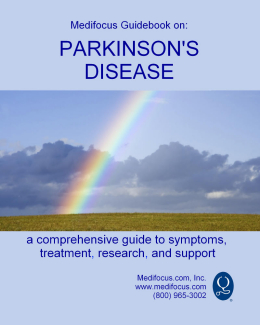 Medifocus Guidebook on Parkinson's Disease