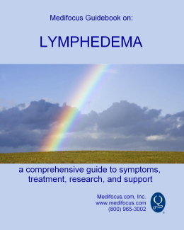 Medifocus Guidebook on Lymphedema
